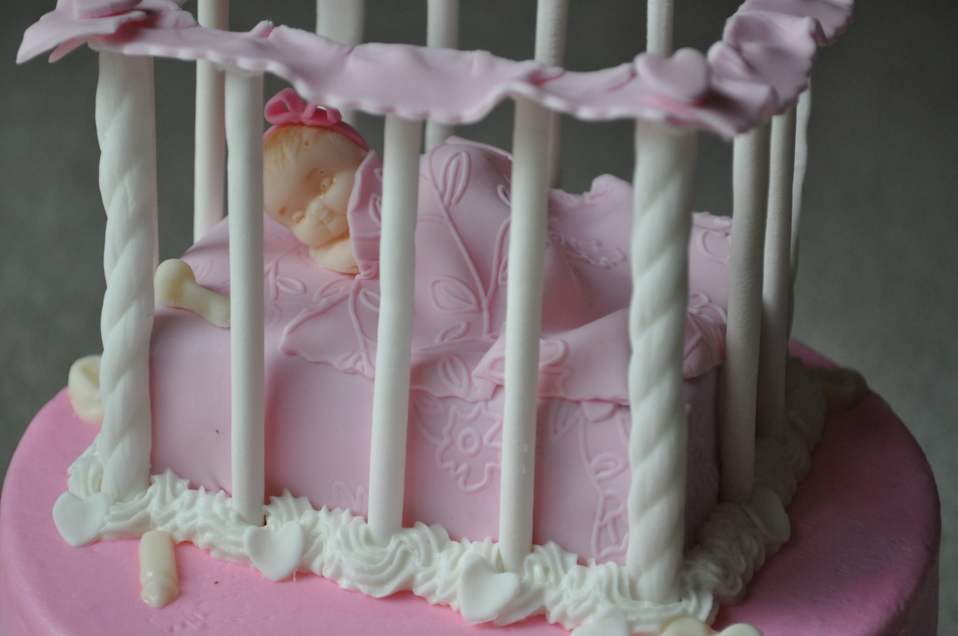 Crib baby shower