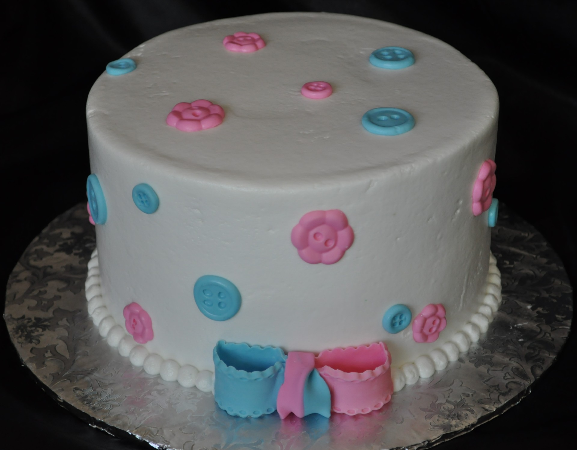 Simple Gender reveal baby shower