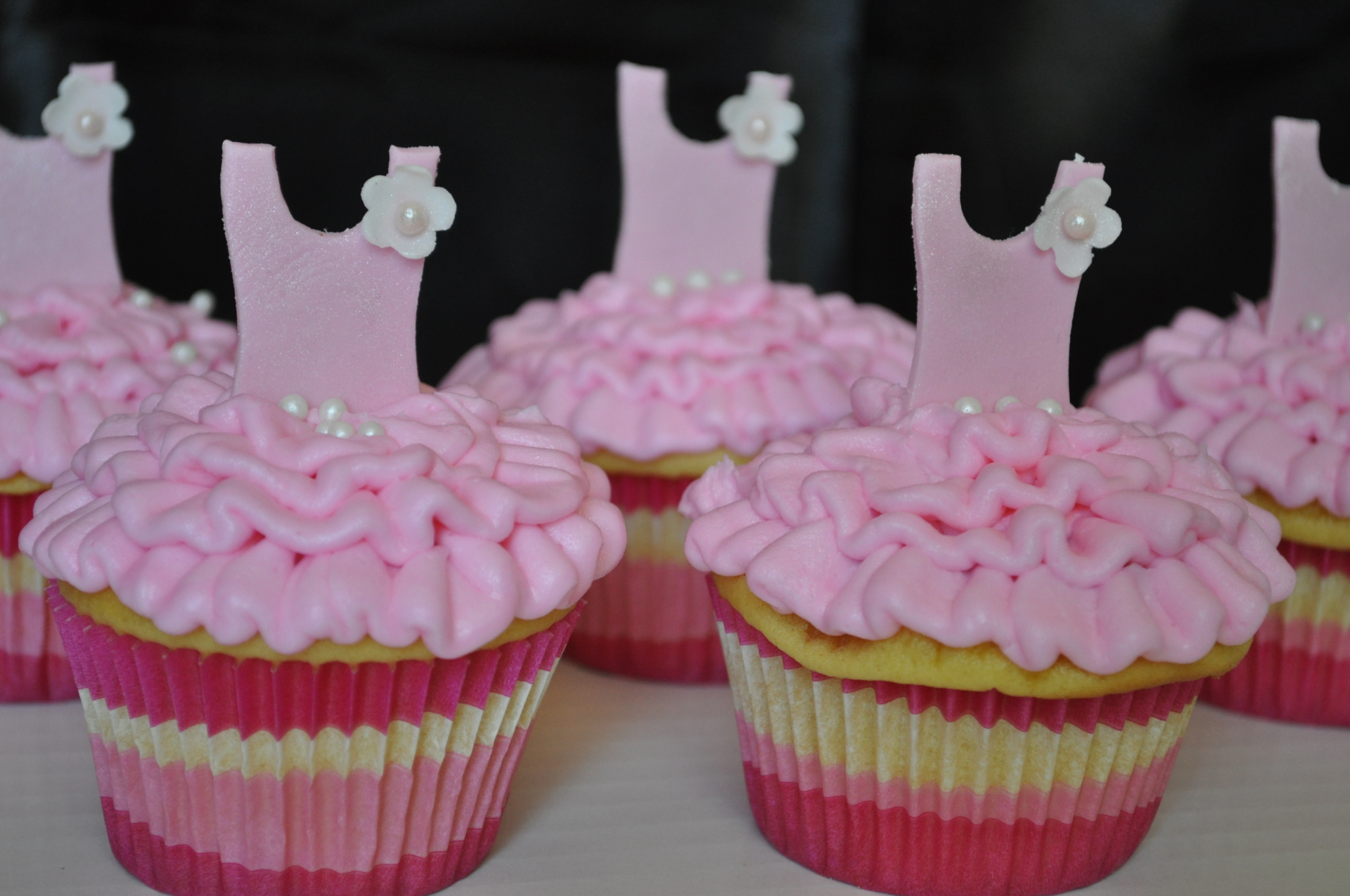 Ballerina, tutu cupcakes