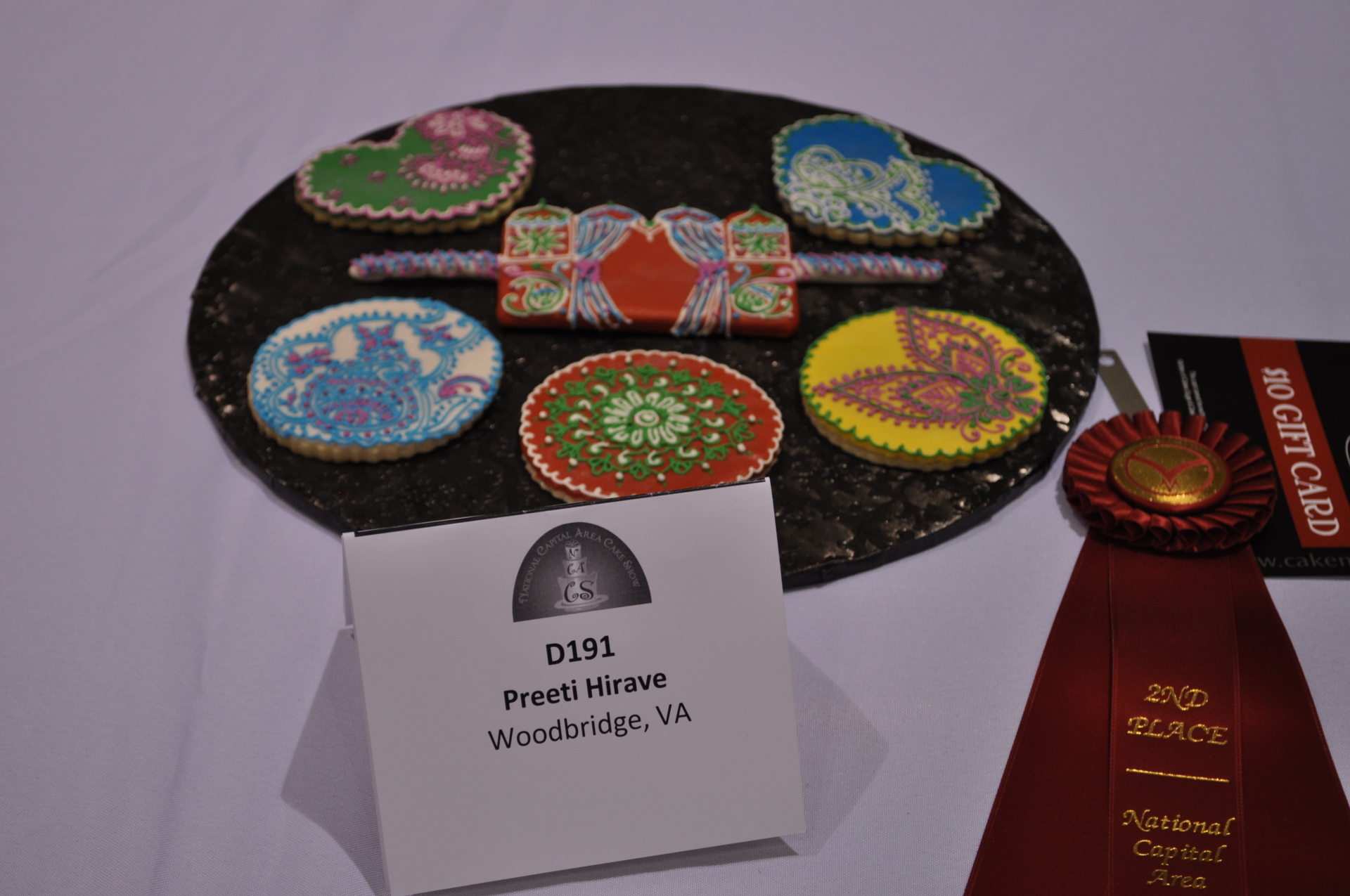 Henna  Cookies- 2nd place at NCACS