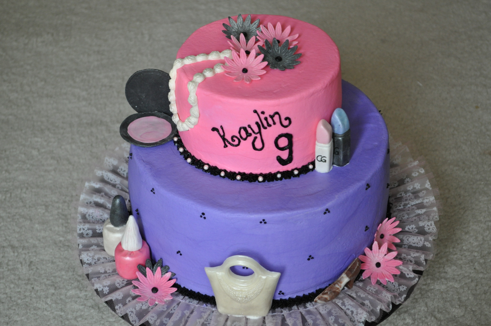 Pink Purple make up