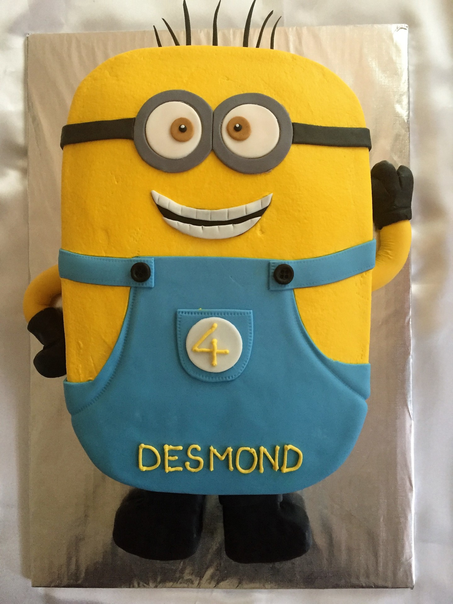Minion carved