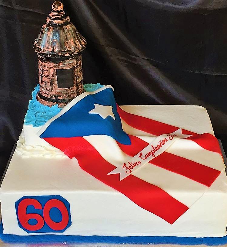 El Morro Puerto Rico flag