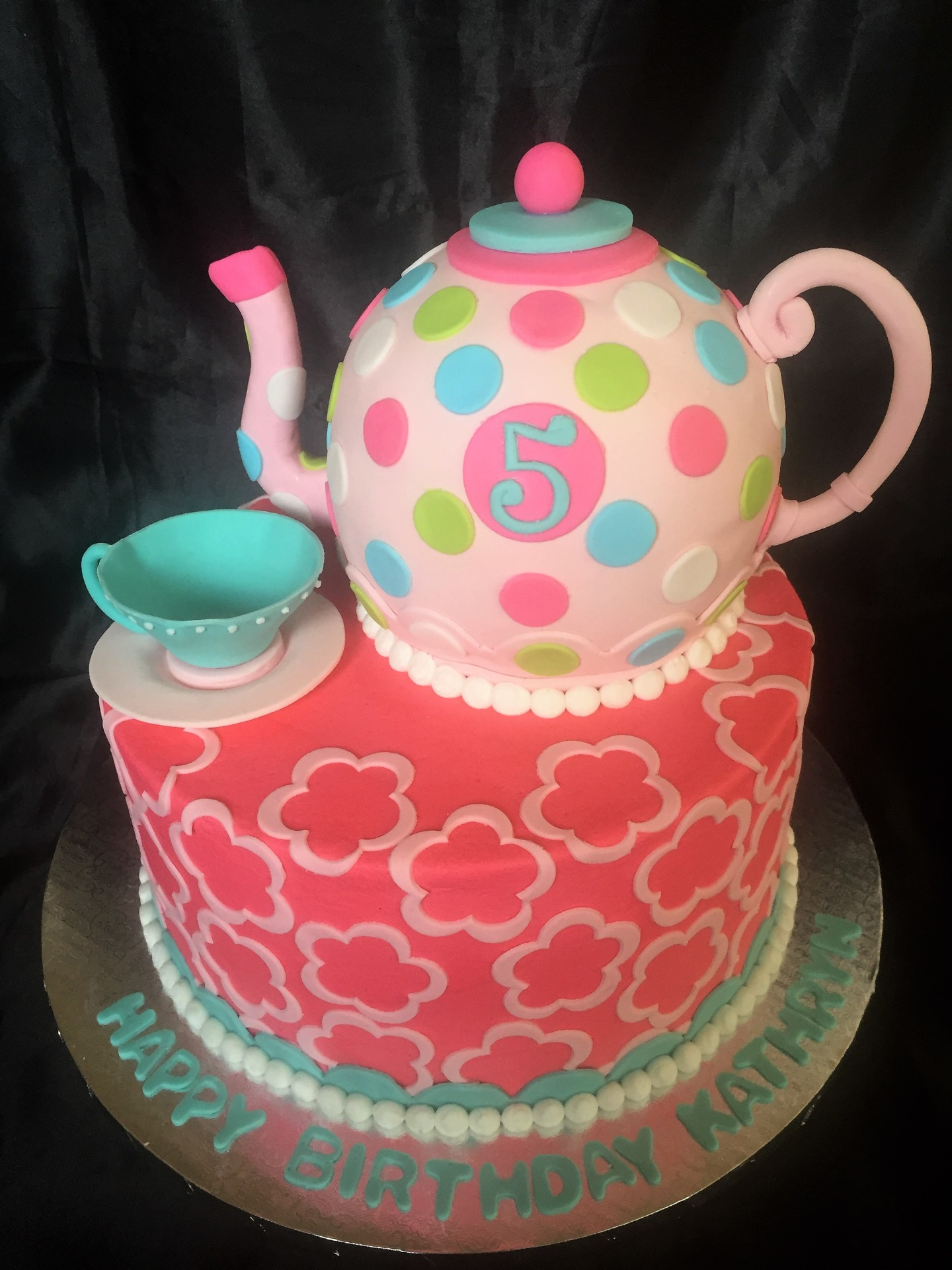Princess Tea party cake