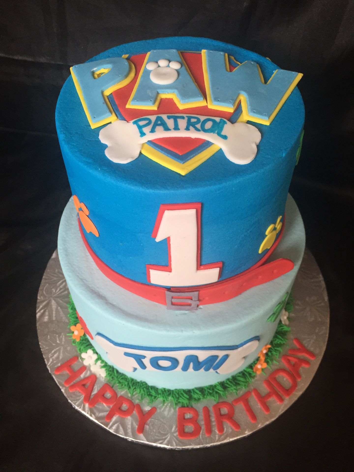 Paw Patrol 2 tiered