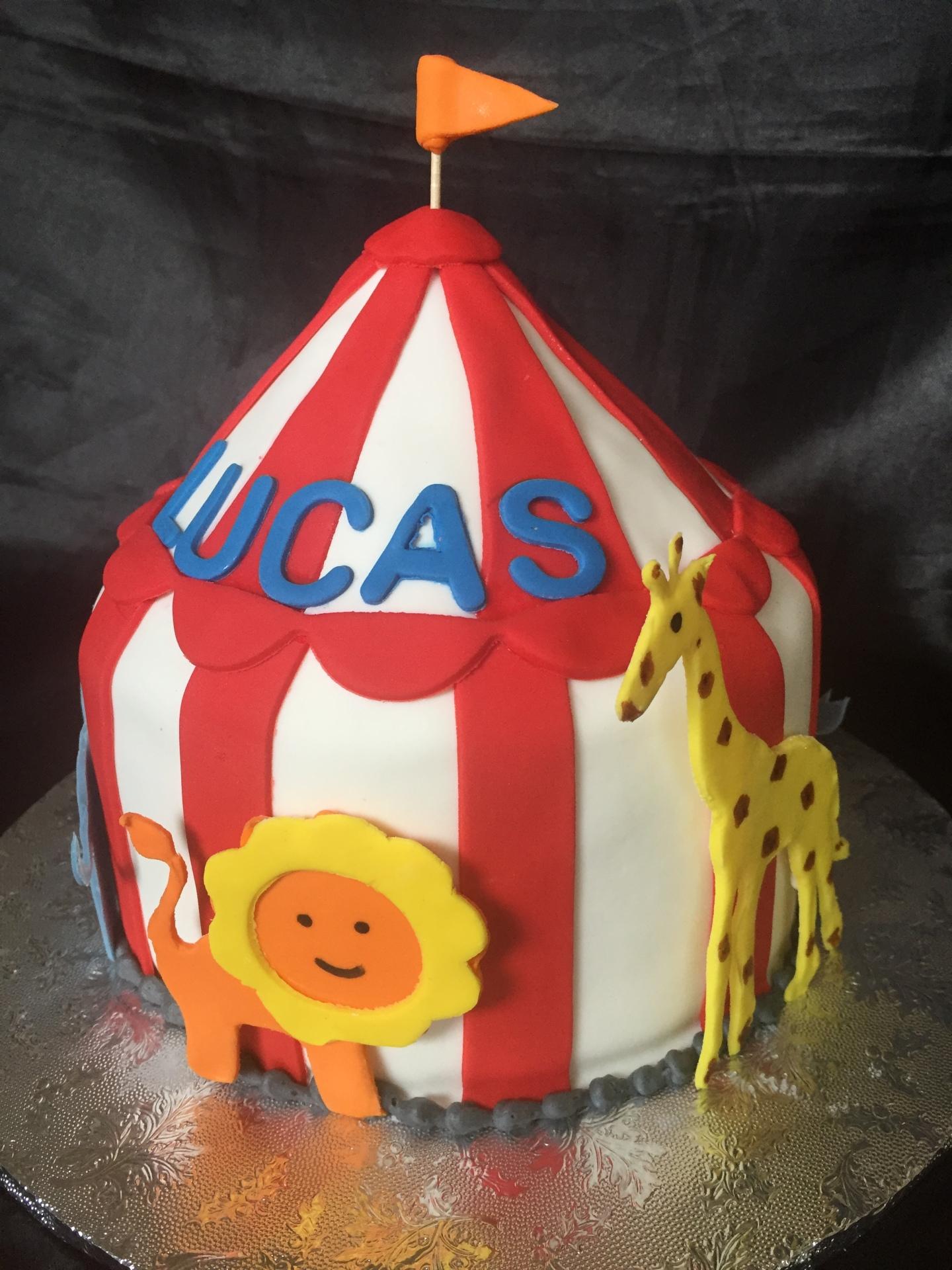 Circus tent smash