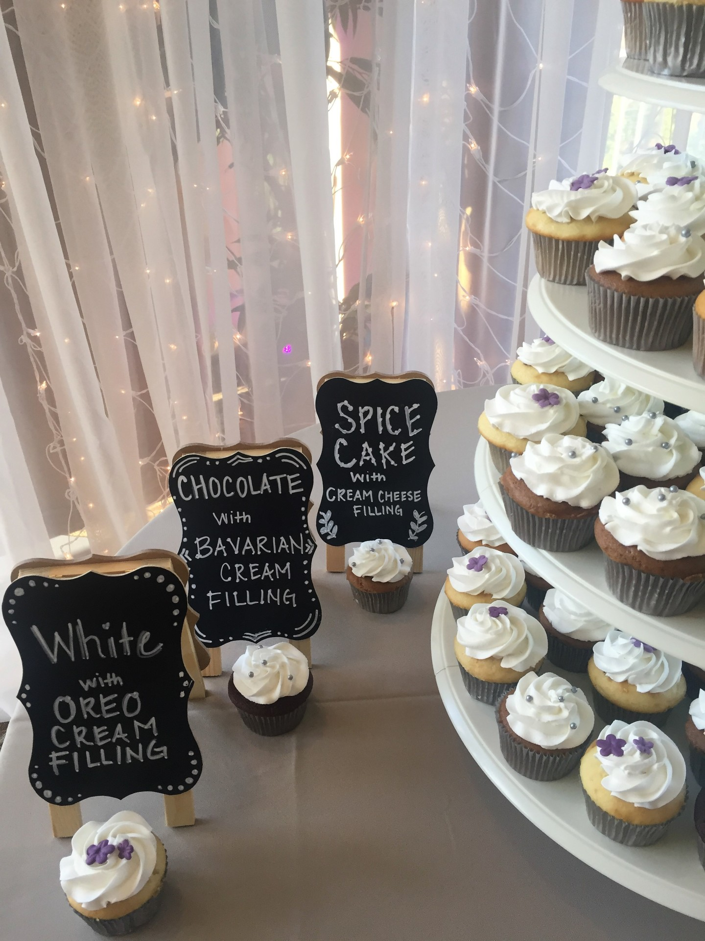 Cute cupcake signs