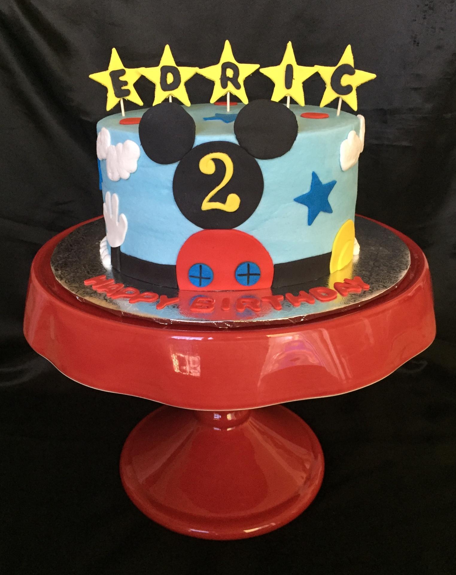 Mickey single tier