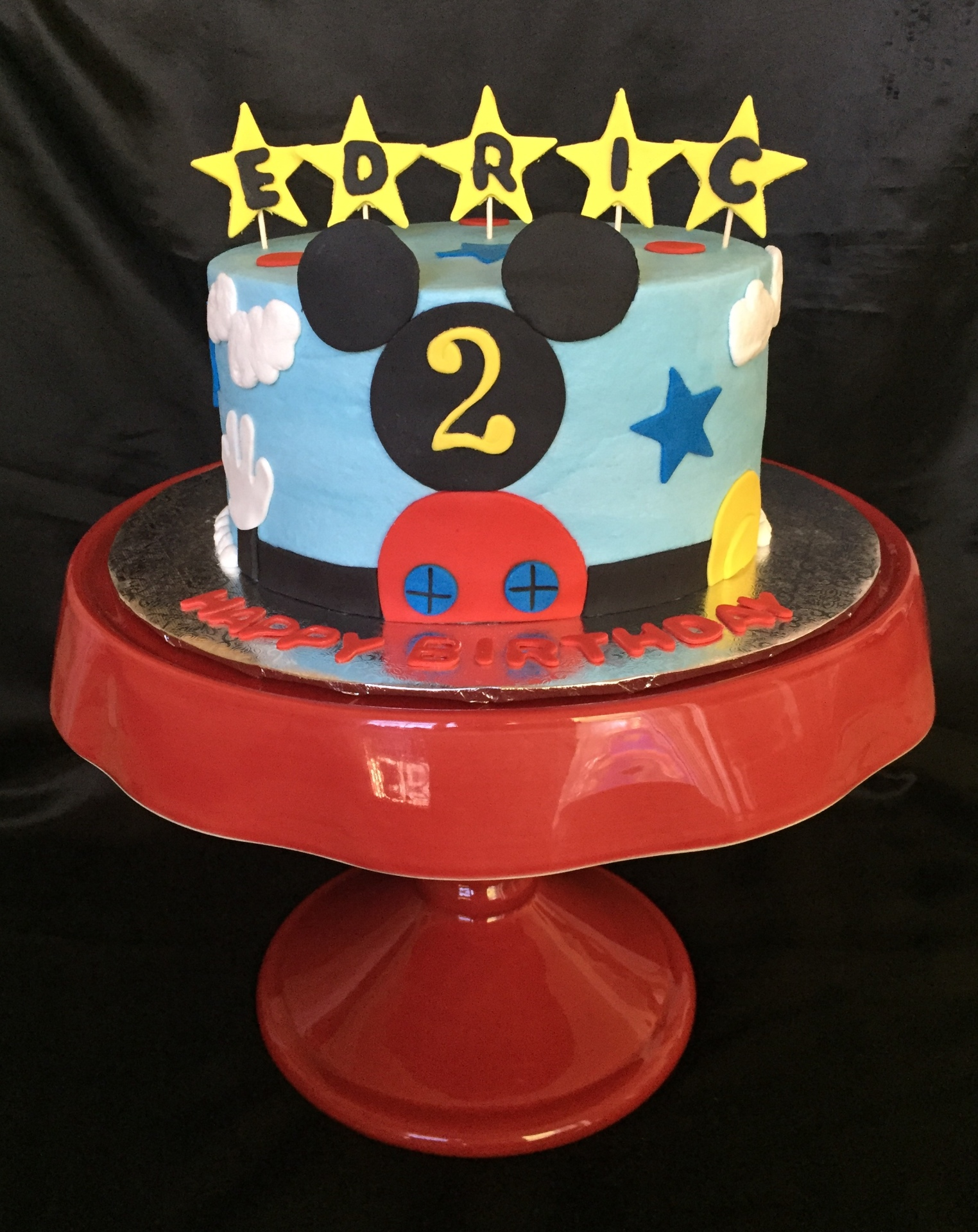 Mickey single tier