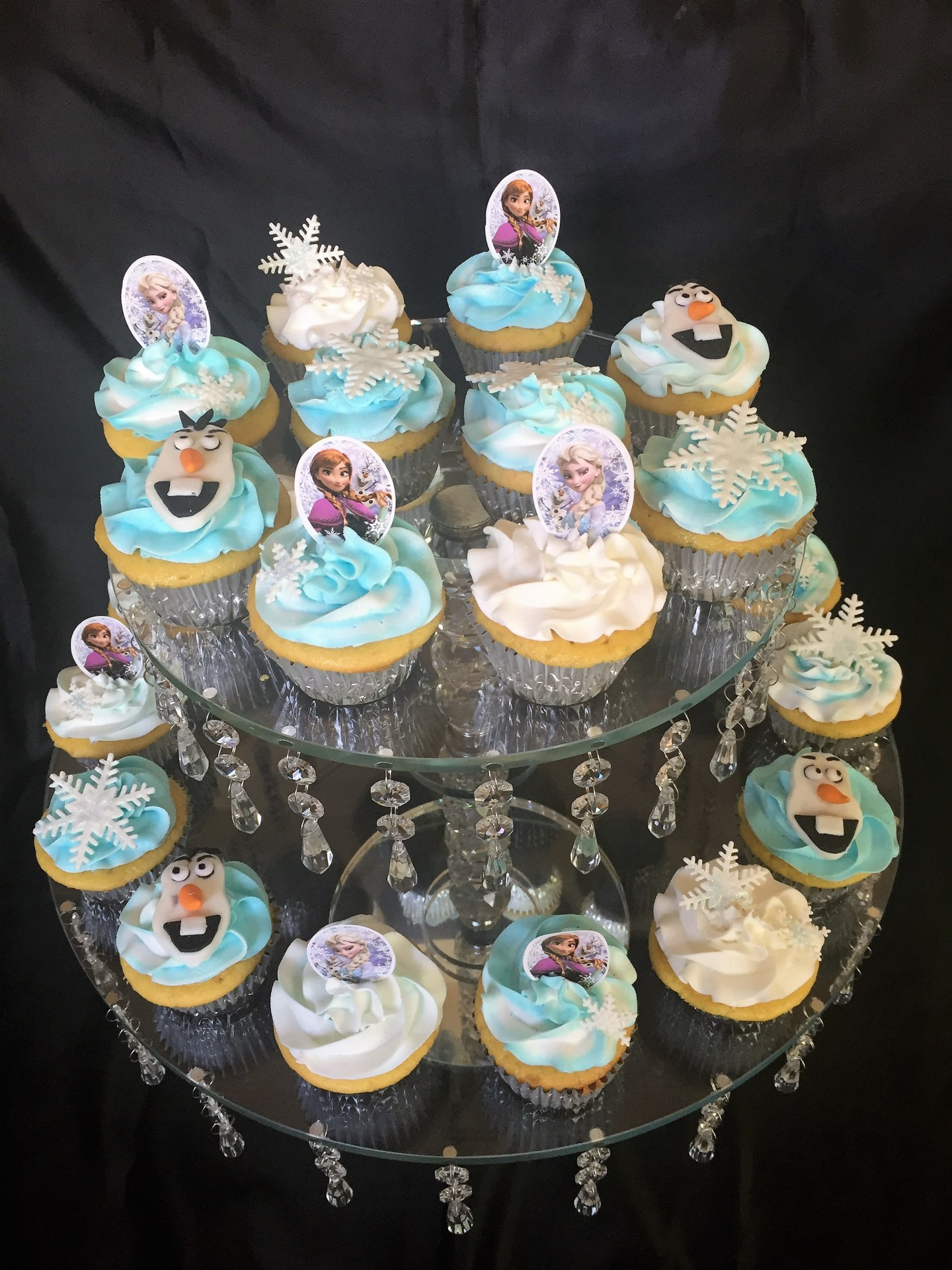 Frozen assorted designs