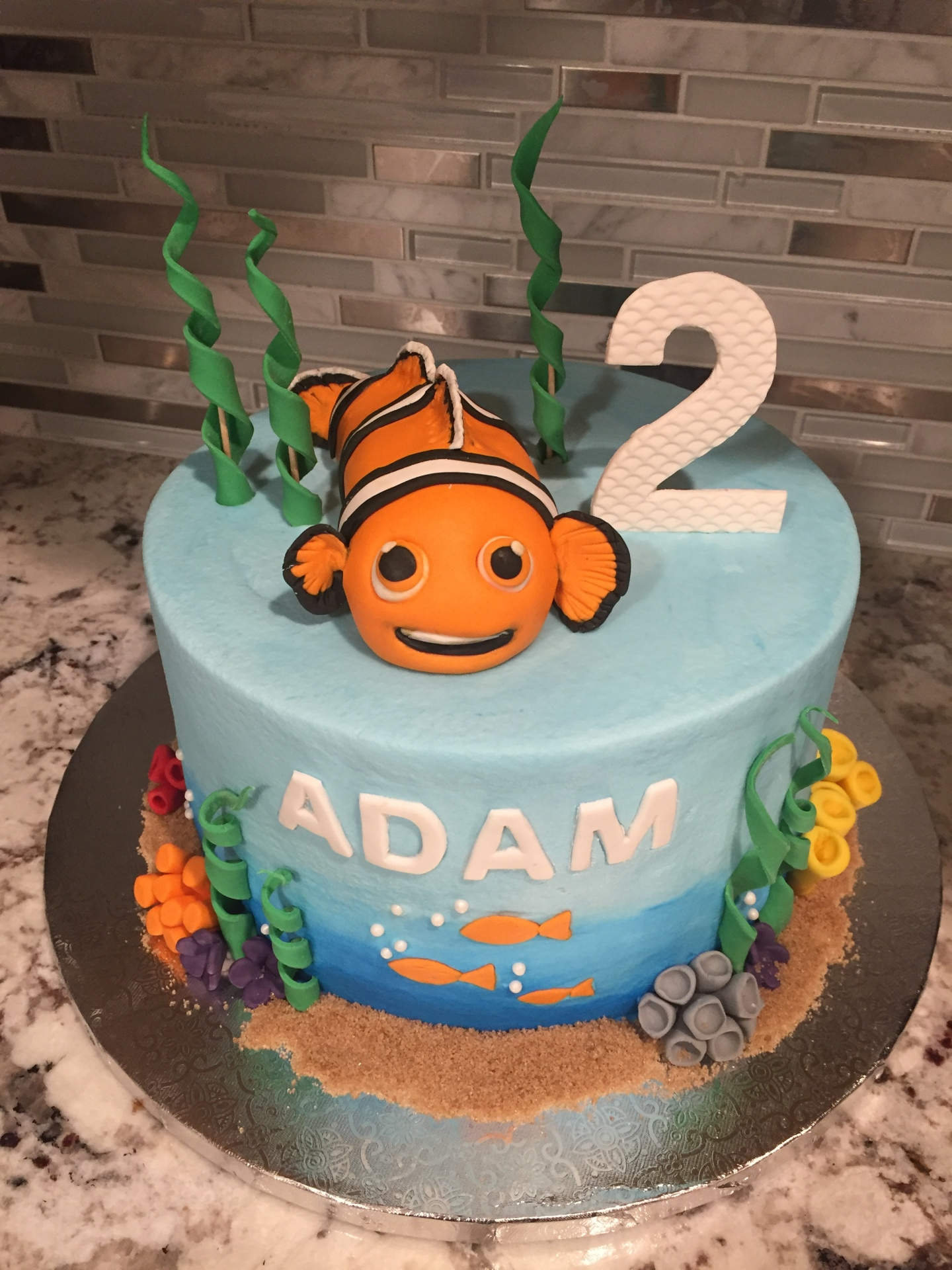 Nemo buttercream