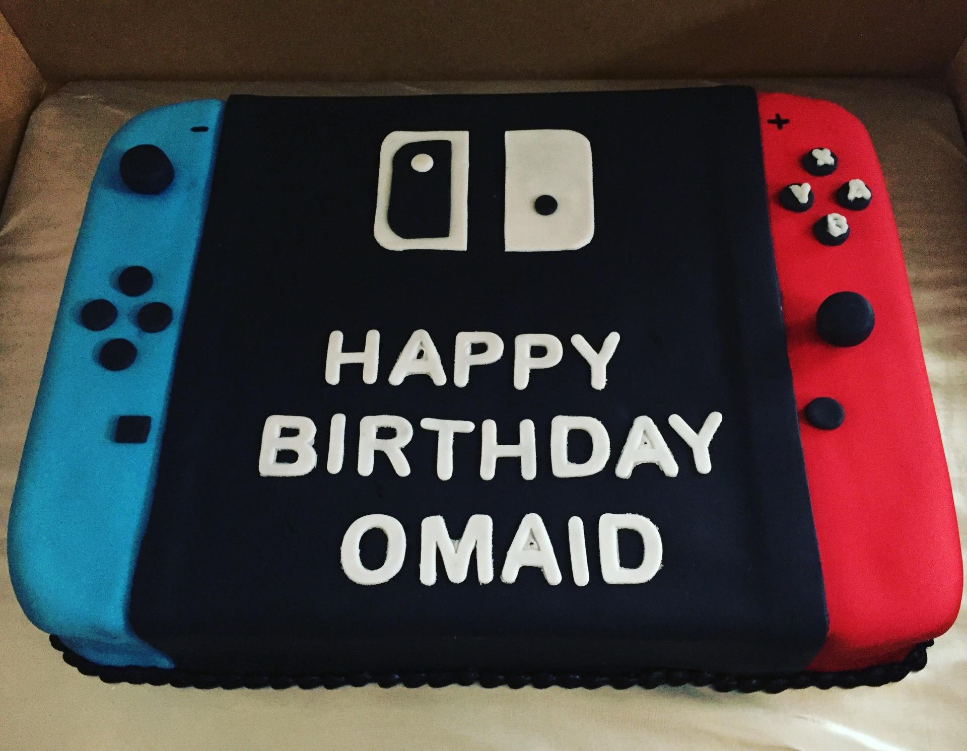 Nintendo fondant