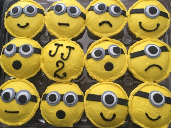 Minions buttercream