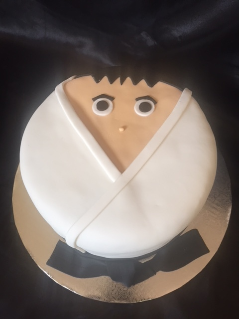 Tae Kwon Do/Karate cake
