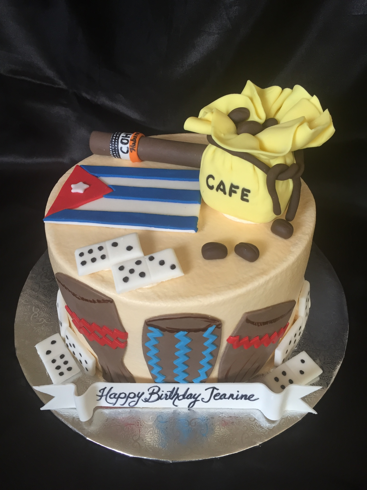 Cuban theme birthday for her