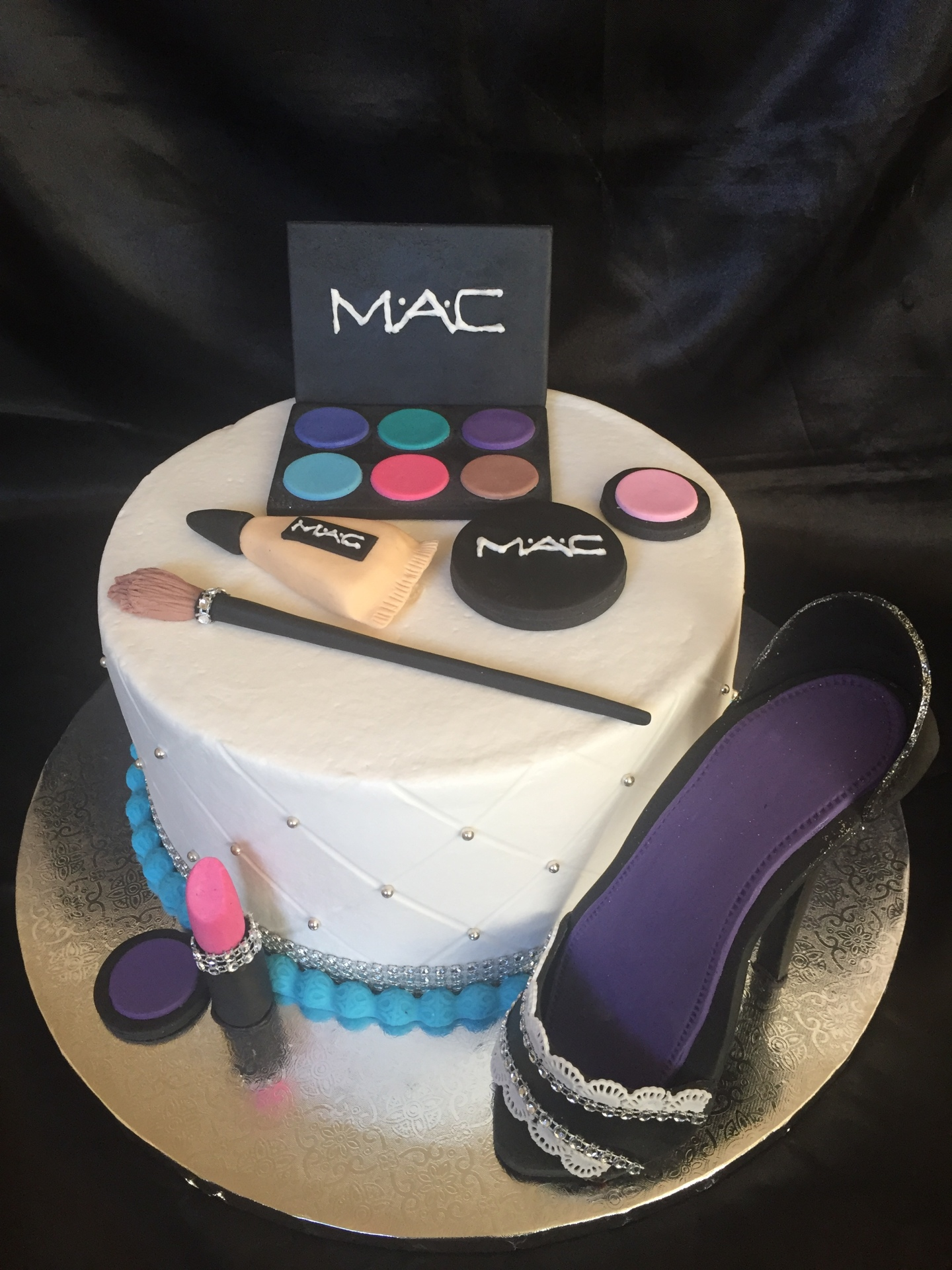 MAC make up and heel