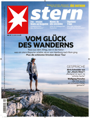 STERN MAGAZIN - COVER -