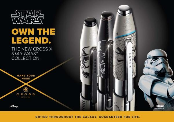 Cross Star Wars Pens
