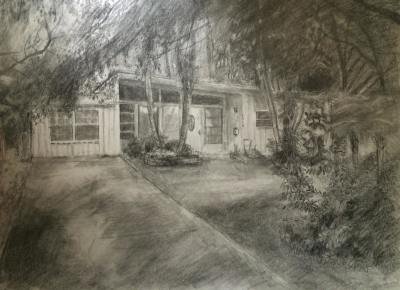 Drawing of a family home