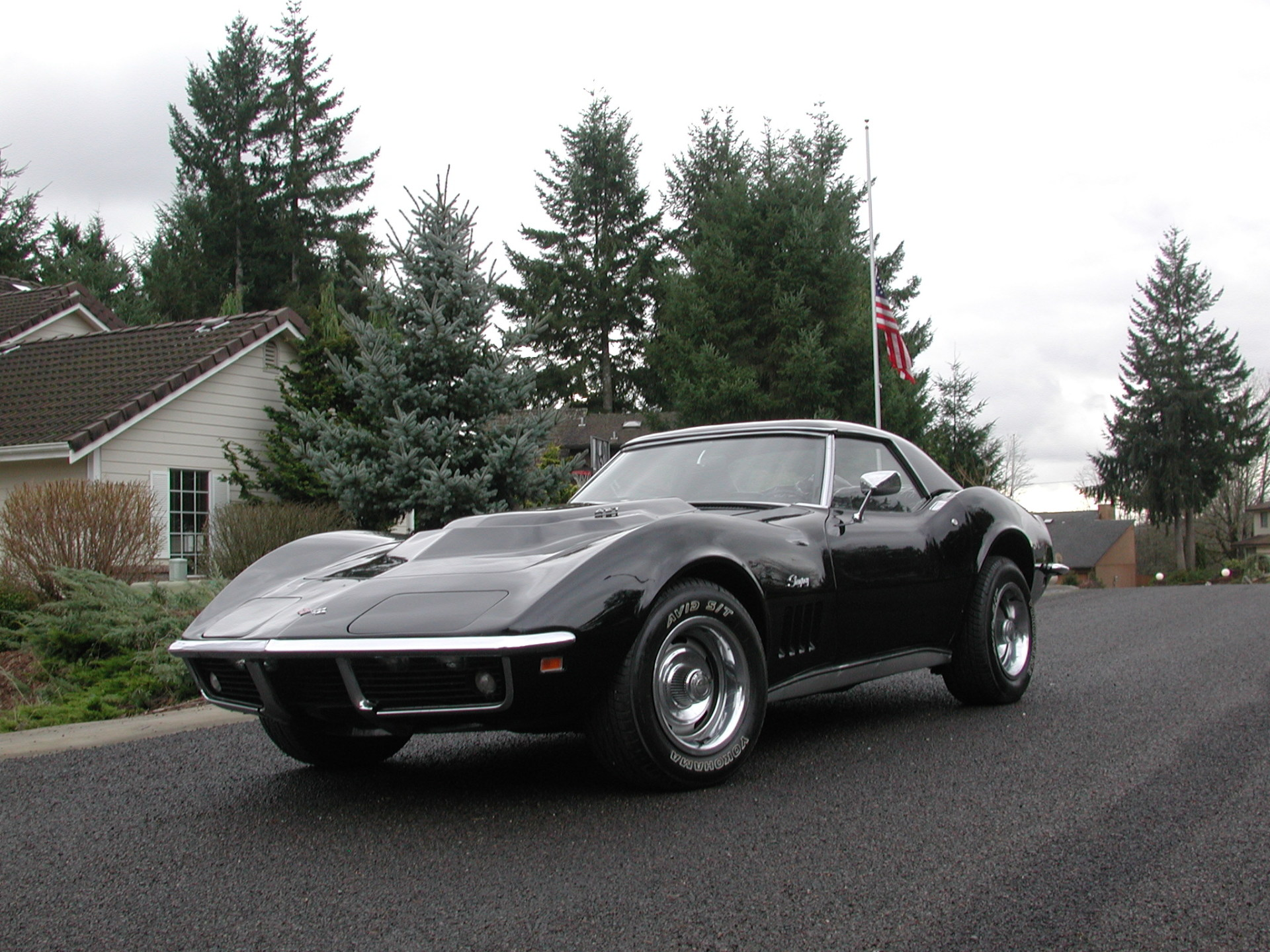 1969 Corvette Convertible 427ci/435hp with Hardtop