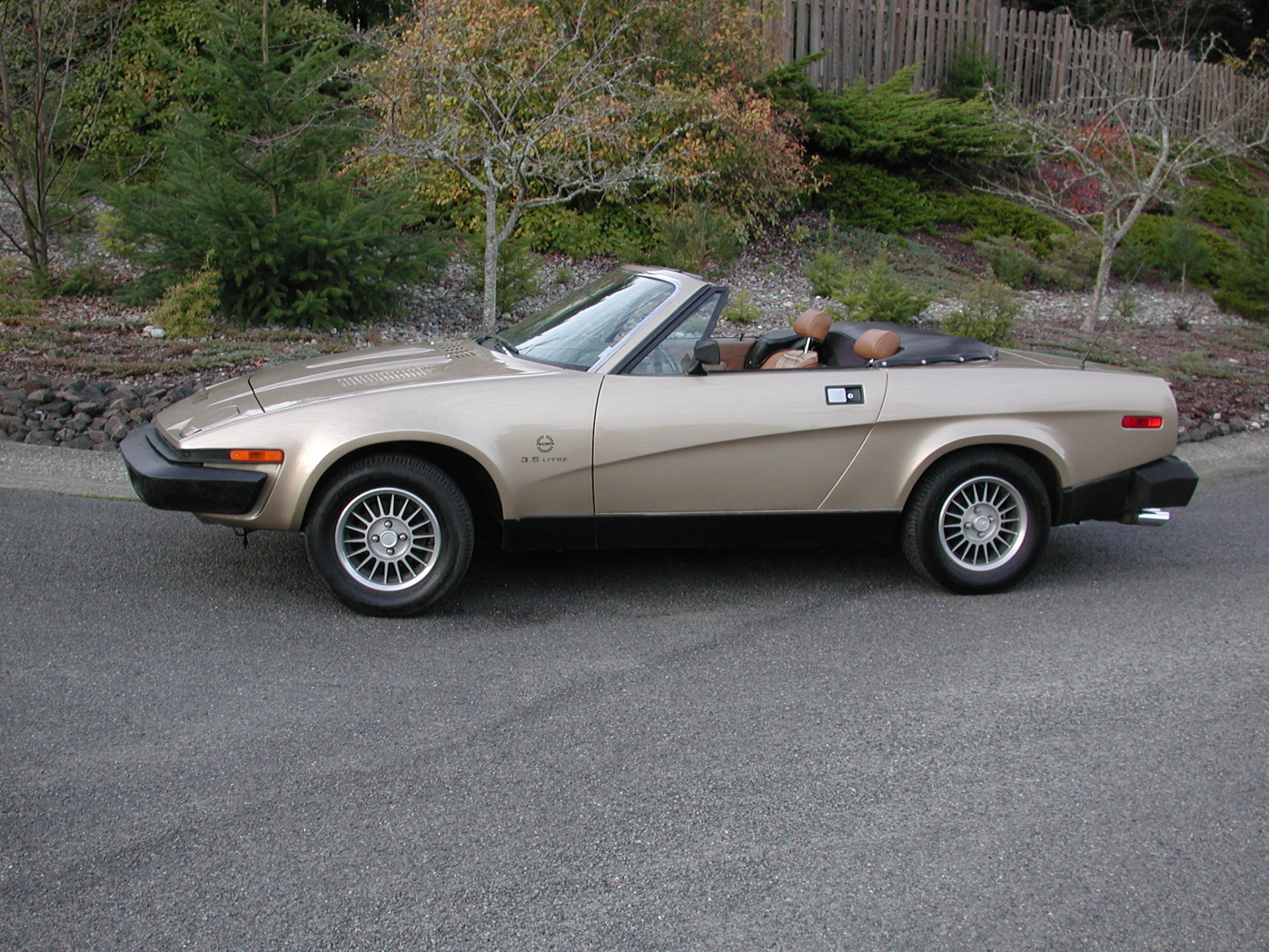 1980 Triumph TR8 Roadster with AC