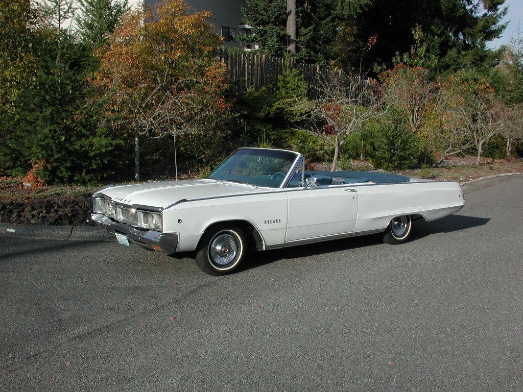 1968 Dodge Polara Convertible 383ci