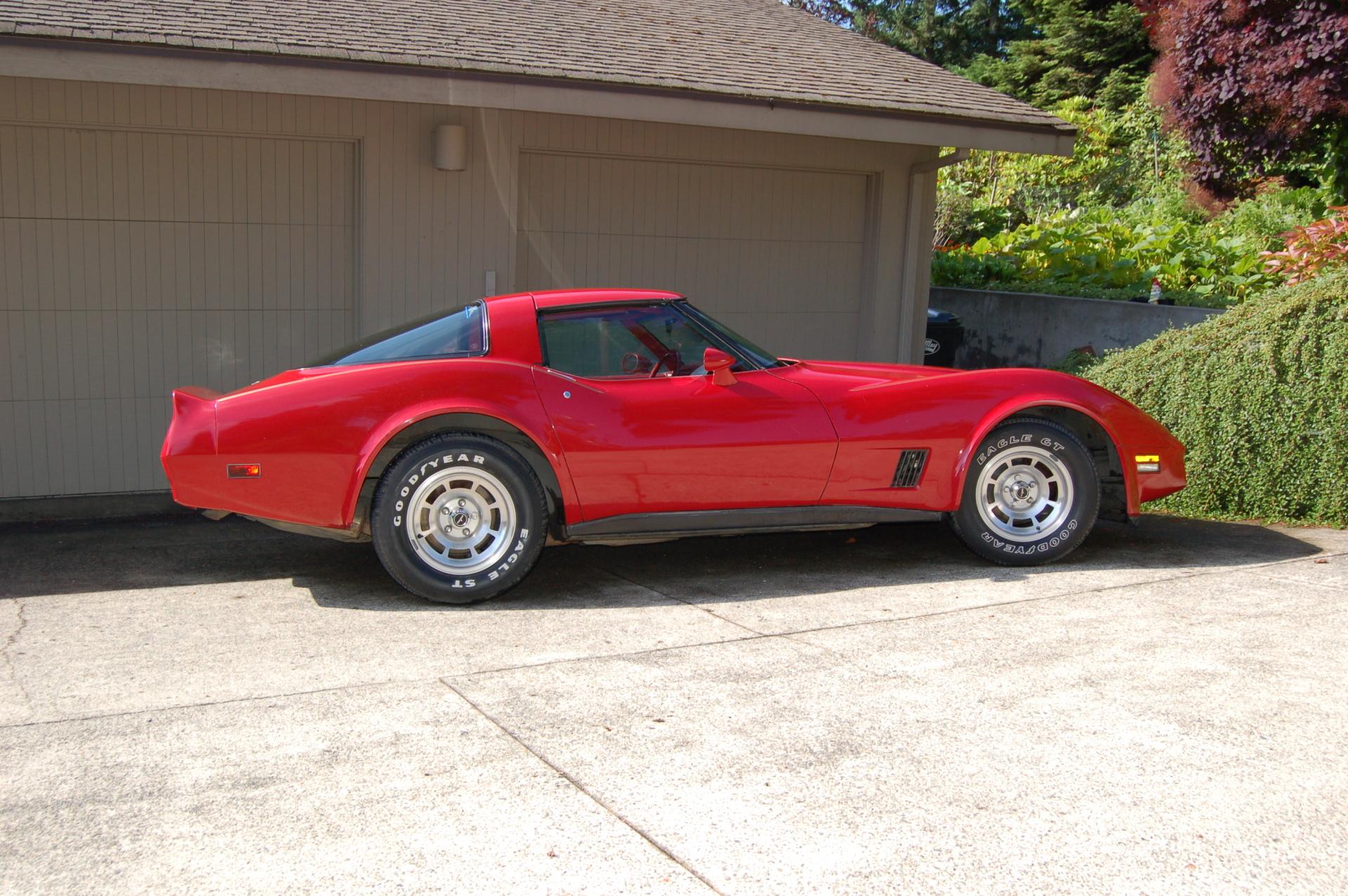 1981 Corvette 4spd