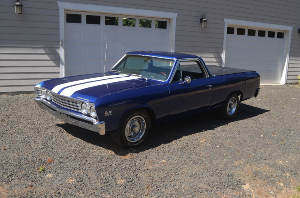 1967 Chevy El Camino 396/325 at Class Winners Collector Vehicles