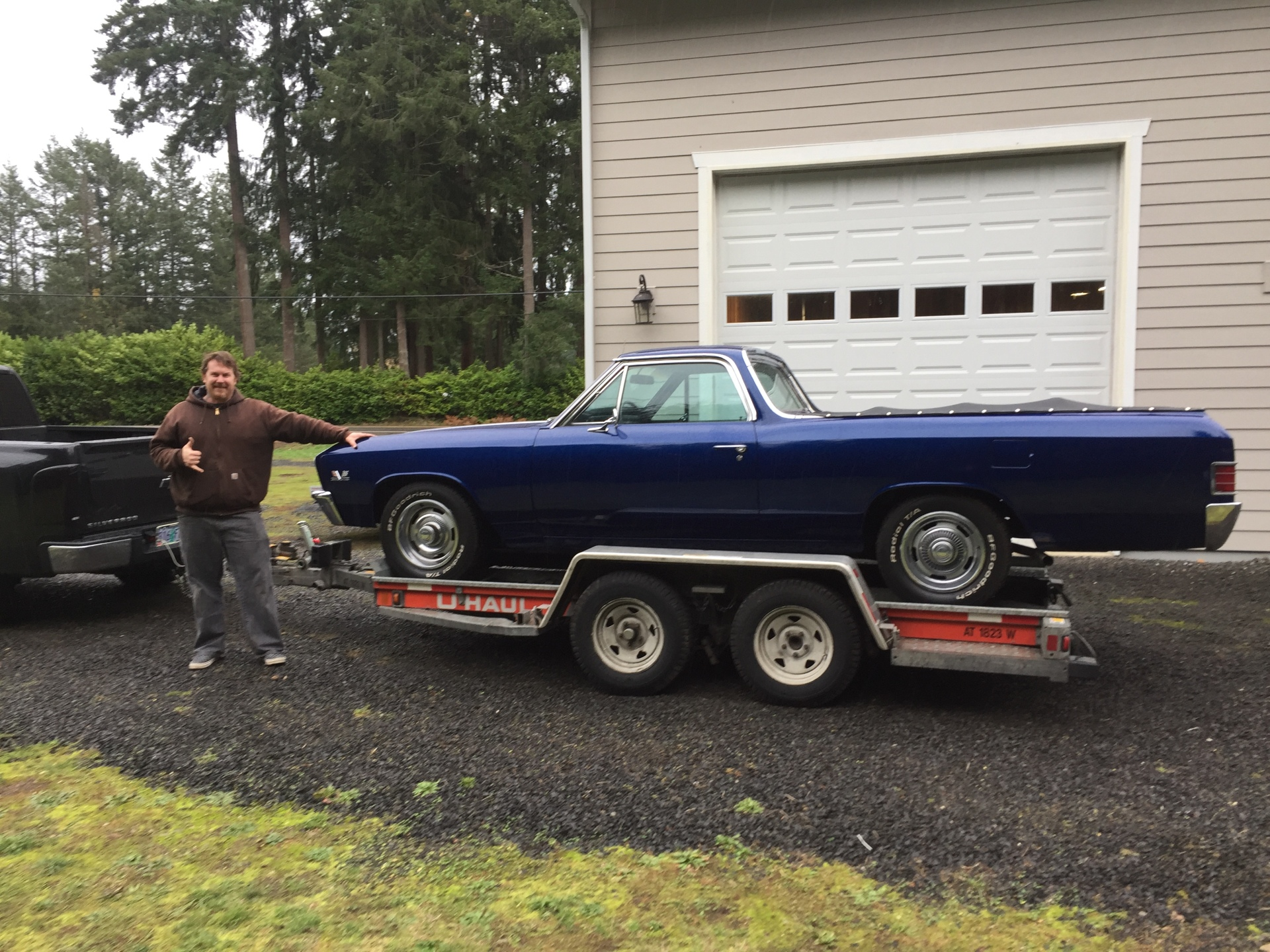 Scott with his matching-numbers 1967 Chevy El Camino 396 from Class Winners