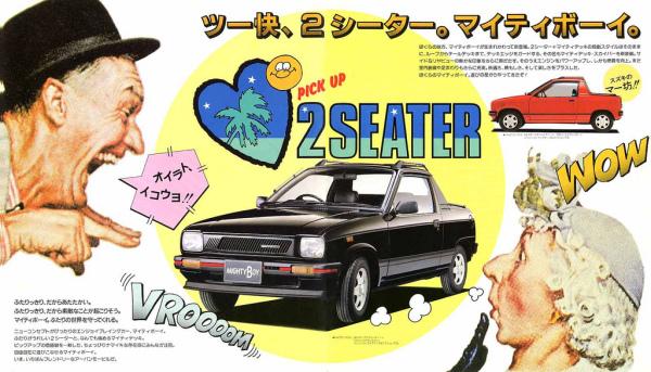1987 Suzuki Mighty Boy at Class Winners