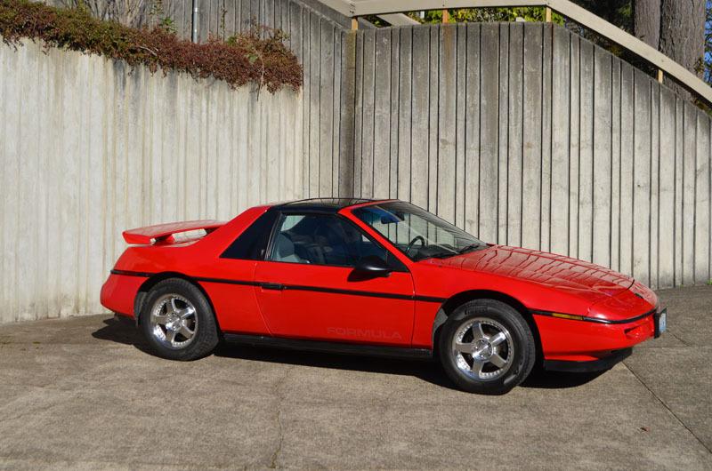 1988 Pontiac Fiero Formula 5-Spd T-Top at Class Winners
