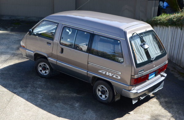 1991 Toyota Town Ace Super Extra Turbo-Diesel 4X4 at Class Winners
