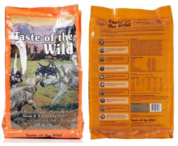 http://www.tasteofthewildpetfood.com/dog-formulas/high-prairie-puppy-formula-with-bison-roasted-venison/