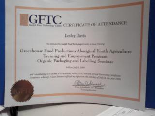 Guelph Food Technology Centre Workshop