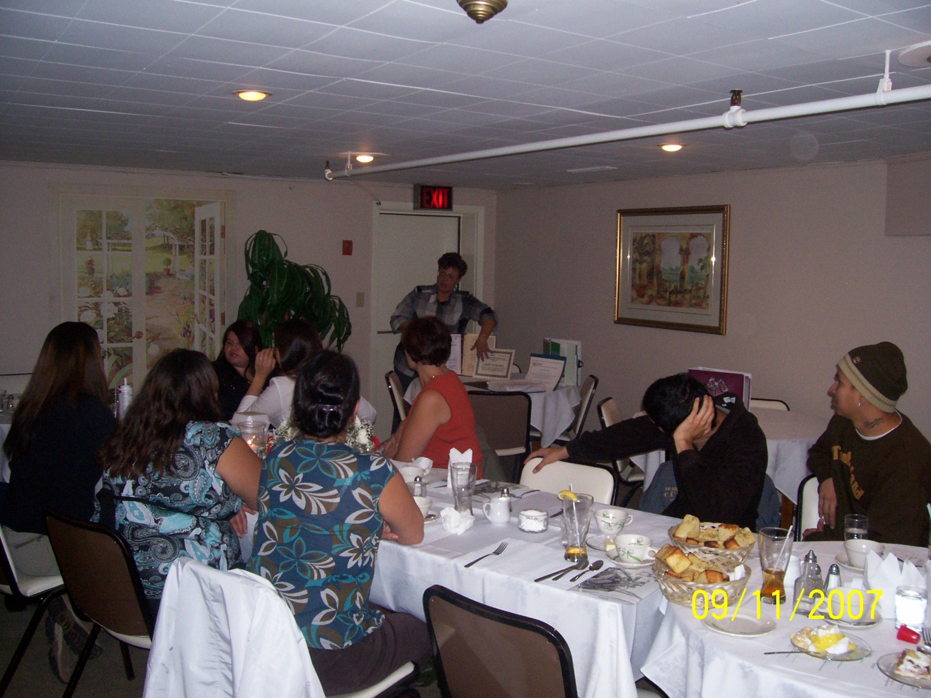 GFP Graduation Dinner at Cove Room in Port Dover