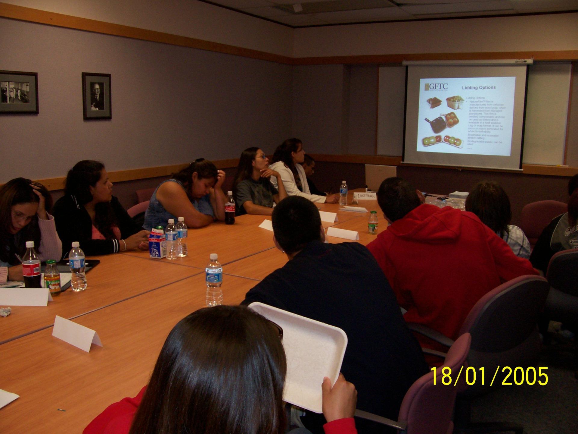 Guelph Food Technology Centre Workshop presentation picture