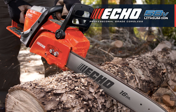 Echo Battery Powered Chainsaw