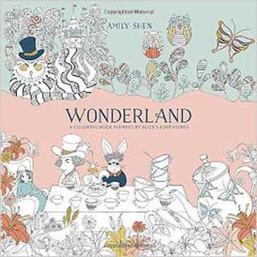Wonderland: A Coloring Book Inspired by Alice's Adventures Book Review