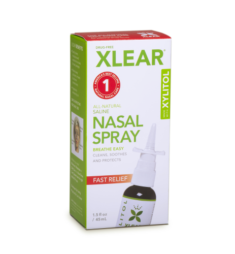 XLEAR Nasal Spray Product Review