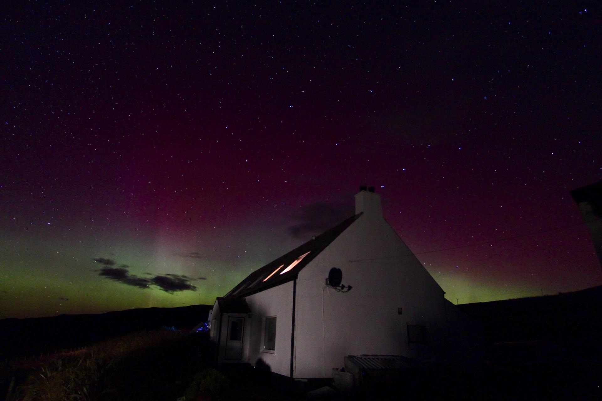 Brae Fasach aurora