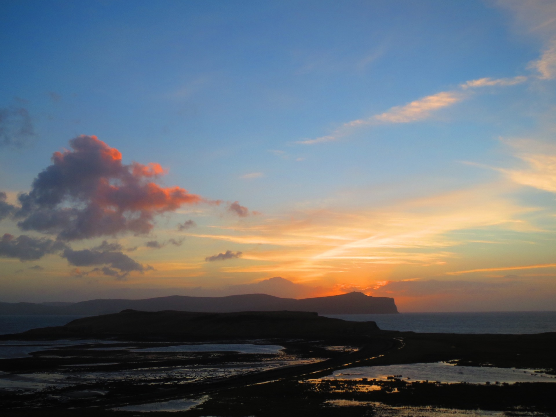 Sunset over Ardmore