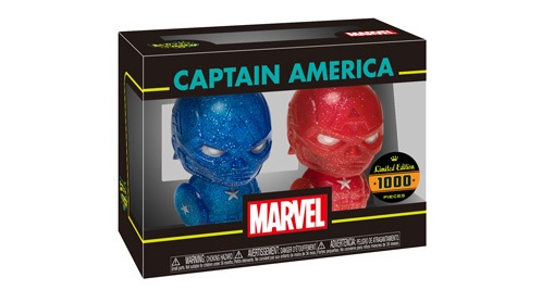 Hikari Friday: Red & Blue Captain America Hikari XS