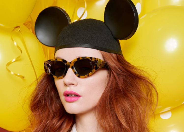 Karen Walker Celebrates Mickey & Minnie Mouse in Colorful Collection