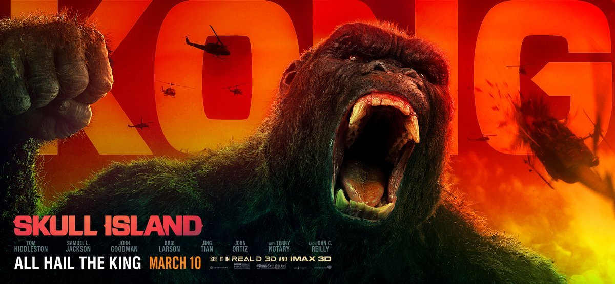 Kong: Skull Island Four New TV Spots