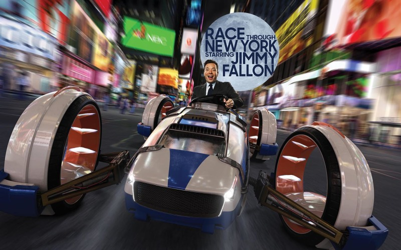 Safety Precautions for Race Through New York starring Jimmy Fallon