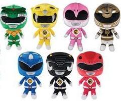 Power Rangers Hero Plushies