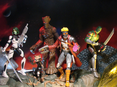 New Guardians of the Galaxy Figures