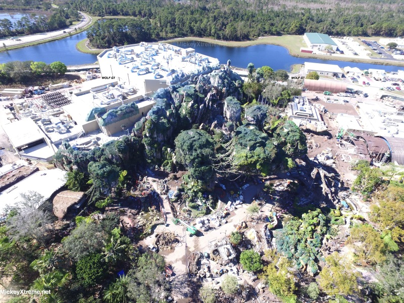 New Aerials of Pandora: World of Avatar
