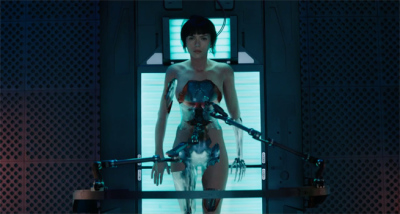 Ghost in the Shell Trailer Superbowl Spot