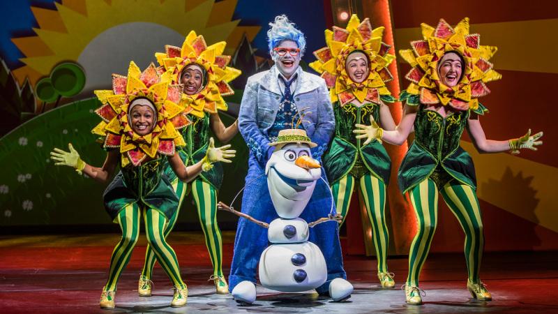 "Sneak Peek of ""Frozen, A Musical Spectacular"" on the Disney Wonder"